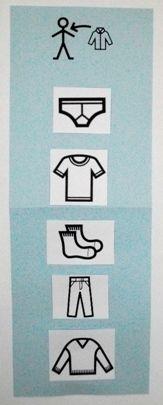 Une séquence Makaton pour s'habiller tout seul