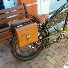 Bolsa de couro para Bicicleta Matulão @estudiomatulao