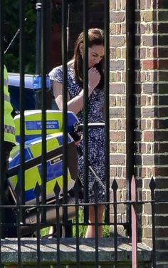 5-24-16:  Prince George meets police officers and tries out their motorcycle