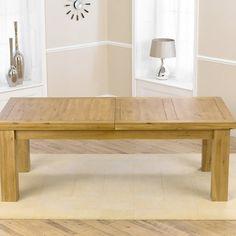 Laurent Solid Oak Dining Table