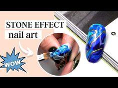 STONE EFFECT nail art tutorial 💎 | desmynails - YouTube Nails Design, Art Tutorials, Nail Art, Stone, Rings, Youtube, Jewelry, Rock, Jewlery