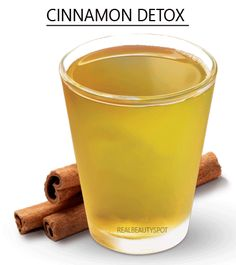 DIY Cinnamon flat tummy detox water