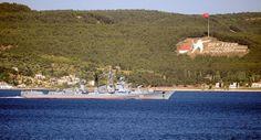 Rus Gemileri Çanakkale Boğazı'ndan Geçti - kureselajans.com-İslami Haber Medyası
