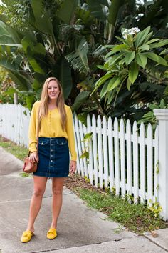 Dressing for Fall When It's Still Warm Out - Sunshine Style