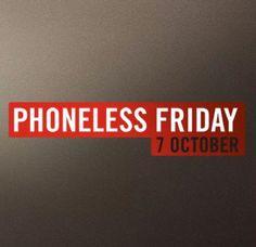 #PHONELESSFRIDAY @savethechildrenuk #GoDarkForADay @clicdigitaluk @daisy_sells