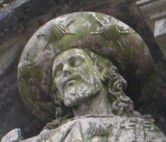 saint James at the Santiago de Compostela