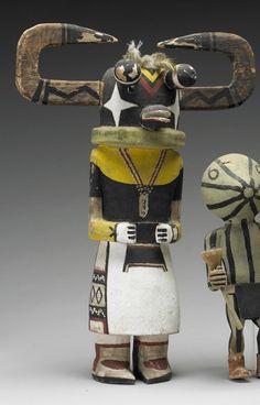A Hopi kachina doll  Ahote kachina