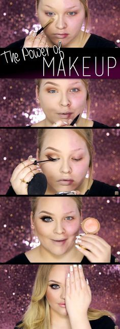 She Demonstrates The Face-Changing Power Of Make-Up! – The result I'm Speechless!