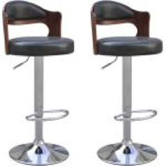vidaXL Black Leather Bar Stool Chair Padded Seat Back Gas Lift Dining Cafe Dining Chair Seat Covers, Bar Stool Chairs, Stool Covers, Swivel Bar Stools, Dining Chairs, Decorating Your Home, Interior Decorating, Industrial Bar Stools, Brick Texture