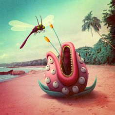 El planeta de los monstruos deleitosos by Bakea