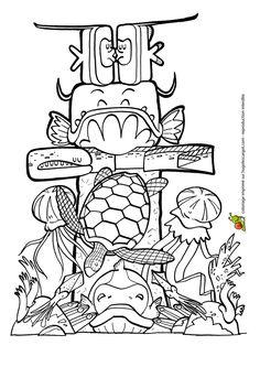 C'est le chef Crevette qui est aux fourneaux, dessin à
