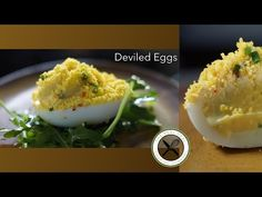 Deviled Eggs Recipe / Oeuf Mimosa – Bruno Albouze – THE REAL DEAL - YouTube