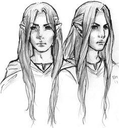 LotR: Elladan and Elrohir by ElLyHa