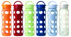 April Eco-Friendly and Chic Lifefactory Water Bottles Bpa Free Water Bottles, Glass Water Bottle, Glass Bottles, Gym Bottle, Drink More Water, Spring Green, Baby Bottles, Free Food, Are You Happy