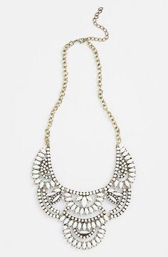 Tildon Stone Statement Necklace