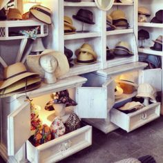 We're kind of obsessing over ARTH right now. This little Japanese corner hat shop is a dream! Need an original gift, a flirtatious head accessory to go with a your flirtatious hair, or a serious statement on top of you? You will find it all here! This is a Top Top Goodness. #soho #NYC #hats