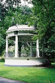 Band Rotunda - Christchurch Botanic Gardens, New Zealand