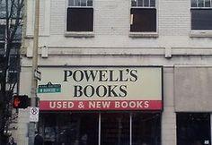 Powell's City of Books, Portland Oregon.