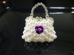 YouTube Bead Jewellery, Beaded Jewelry, Jewelery, Handmade Jewelry, Beaded Bracelets, Beaded Purses, Beaded Bags, Beading Projects, Beading Tutorials