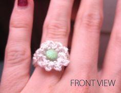 free Ravelry: Flower Ring pattern by Denise Truett