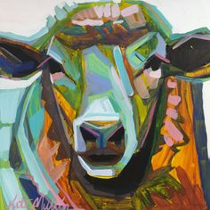 Sheep Painting by Kate Mullin Williford ART.