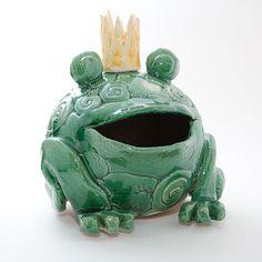 Keramik Froschkönig von isi-way.com