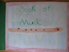 Waldorf ~ 1st grade ~ Pentatonic flute ~ main lesson book