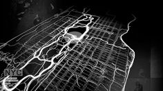 Nike+ City Runs, by YesYesNo ≡ Visual animation of runs by members of the Nike+ community. Beacon would trace runners routes, and layers overtime reveal higher traffic corridors. Nike Plus Running, Running Gif, Running Songs, Information Visualization, Data Visualization, Nike Retail, Dynamic Painting, Visual Map, Nike Website