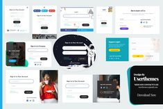 Login & Registration Popup Forms Design Template by UserThemes on Envato Elements Form Design, App Design, Visiting Card Templates, Wordpress, Web Forms, Pricing Table, Adobe Xd, News Magazines, Popup