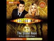 Doctor Who: The Stone Rose (book on tape). Read by David Tennant. I'll have to come back to this later. It's an hour long.