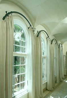 Impressive Curtains For Windows With Arches Ideas with Best 25 Half Moon Window Ideas On Home Decor Half Circle Window Half Circle Window, Half Moon Window, Curtains For Arched Windows, Windows And Doors, Arch Windows, Window Blinds, Round Windows, Mini Blinds, Wood Blinds