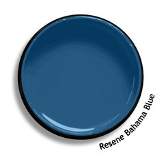 Resene Navigate is a sea faring blue with a hint of a green undertone. View on Resene Multi-finish palette View this and of other colours in Resene's online colour Swatch library Paint Colors For Home, House Colors, Paint Colours, Resene Colours, Painted Sofa, Split Complementary, Bahama Blue, Blue Home Decor, Bathroom Colors