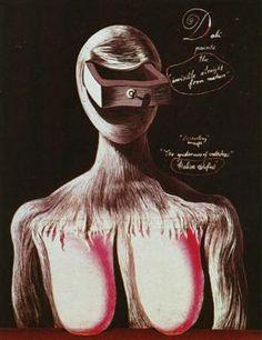 Woman with Drawers - Salvador Dali