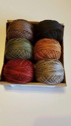 Valdani Perle Cotton Size 12 Embroidery Thread Wee Woolies by Kathy Brown #Valdani