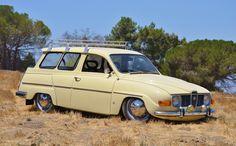 1969 Saab 95 Estate Wagon