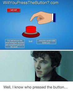 Sherlock Holmes and John Watson A better love story than Twilight(ノ◕ヮ◕)ノ*:・゚✧ Sherlock Bbc, Benedict Sherlock, Sherlock Fandom, Watson Sherlock, Jim Moriarty, Sherlock Quotes, Sherlock Humor, Martin Freeman, John Watson