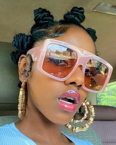Bantu Knot Hairstyles, Latest Hairstyles, Cute Hairstyles, Girls Natural Hairstyles, Black Girls Hairstyles, Hair Inspo, Hair Inspiration, Business Inspiration, Sunglasses For Your Face Shape