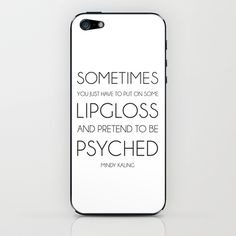 sometimes...  iPhone & iPod Skin by duly noted design - $15.00