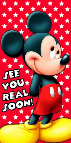 "Just Save it and Print the Picture and Give it to your Child with a note from Mickey that His/Her Parents got a Surprise in Store for you,You are going to see Disney on ice TONIGHT PAL"" Walt Disney, Disney Theme, Disney Fun, Disney Trips, Disney Magic, Baby Mickey, Mickey Love, Mickey Mouse Club, Mickey Mouse And Friends"