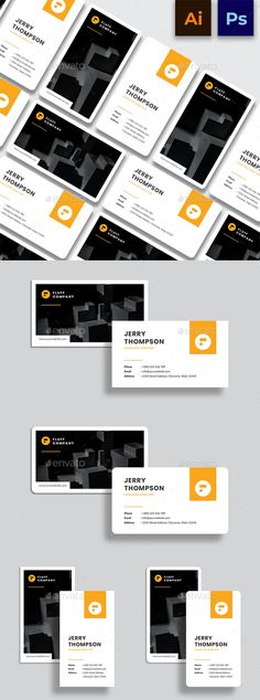 Creative Minimalist Business Card by fluffstudio | GraphicRiver