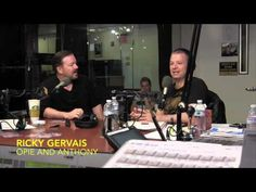 Ricky Gervais talks Atheism and Religion - Opie and Anthony - YouTube