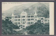 Hong Kong China The Peak Club Germania Sternberg Pub C 1910'S | eBay