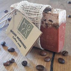 GOOD MORNING -  coffee soap