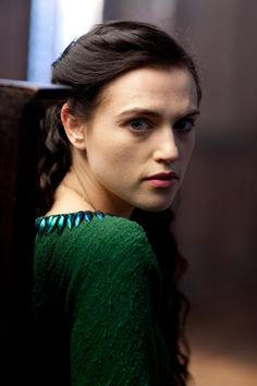 """Katie McGrath as Lady Morgana from BBC's """"Merlin"""""""