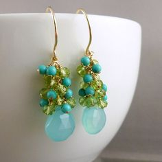 Loving green and turquoise