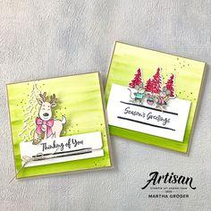 In the Pines ist eine tolle Produktreihe für Weihnachten. Ich habe mich einmal an nicht ganz klassischen Weihnachtsfarben versucht und hoffe es gefällt Dir.