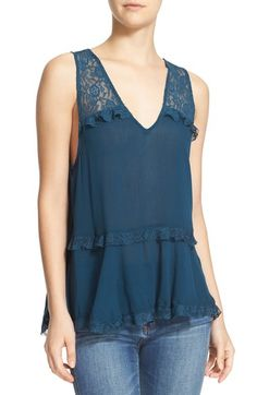 Free People Lace Trapeze Tank available at #Nordstrom