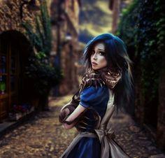 Alice + cheshire cat
