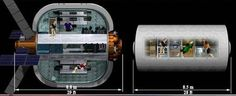 Inflatable Space Hotel
