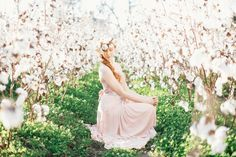Blush+Bridal+Inspiration+in+a+Southern+Cotton+Field+|+JoPhoto+|+See+More!+http://heyweddinglady.com/dreamy-southern-cotton-field-styled-bridal-shoot/